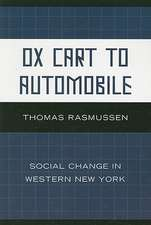 Ox Cart to Automobile