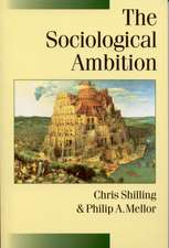 The Sociological Ambition: Elementary Forms of Social and Moral Life