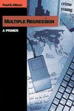 Multiple Regression: A Primer