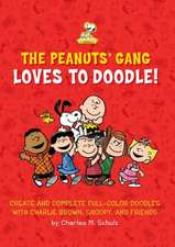 The Peanuts Gang Loves to Doodle: Create and Complete Full-Color Pictures with Charlie Brown, Snoopy, and Friends