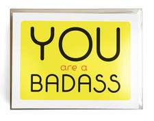 You Are a Badass® Notecards: 10 Notecards and Envelopes