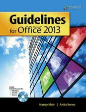 Guidelines for Microsoft¿ Office 2013