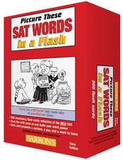 Picture These SAT Words in a Flash, 3rd Edition:  With Awesome Pop-Up Map!
