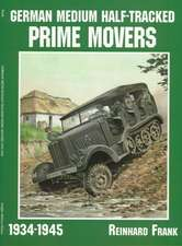 German Medium Half-Tracked Prime Movers 1934-1945