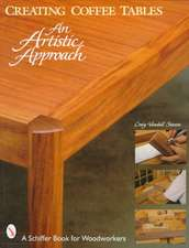 Creating Coffee Tables: An Artistic Approach: An Artistic Approach