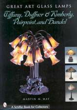 Great Art Glass Lamps:  Tiffany, Duffner & Kimberly, Pairpoint, and Handel