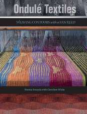 Ondul Textiles: Weaving Contours with a Fan Reed