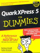 QuarkXPress 5 For Dummies