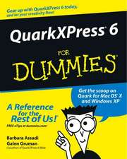 QuarkXPress 6 For Dummies