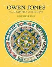 Owen Jones:  The Grammar of Ornament Coloring Book