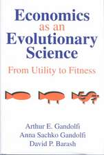 Economics as an Evolutionary Science