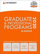 Graduate & Professional Programs: An Overview 2020