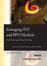 Emerging Ito and Bpo Markets:  Rural Sourcing and Impact Sourcing