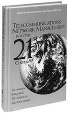 Telecommunications Network Management into the 21st Century: Techniques, Standards, Technologies, and Applications