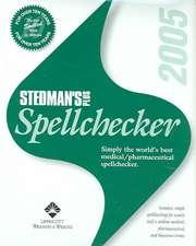 Stedman's Plus Version 2005 Medical/Pharmaceutical Spellchecker (Standard)