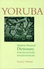 Yoruba-English / English-Yoruba Modern Practical Dictionary