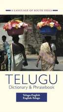 Telugu-English / English-Telugu Dictionary & Phrasebook: A Language of South India