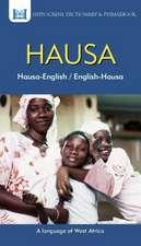 Hausa-English/ English-Hausa Dictionary & Phrasebook
