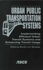 Urban Public Transporation Systems