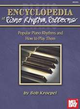 Encyclopedia of Piano Rhythm Patterns