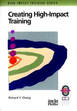 Creating High–Impact Training: A Practical Guide