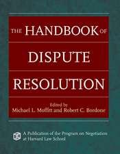 The Handbook of Dispute Resolution