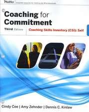 Coaching for Commitment: Coaching Skills Inventory (CSI) Self
