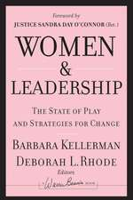 Women and Leadership: The State of Play and Strategies for Change