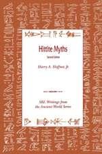 Hittite Myths, Second Edition