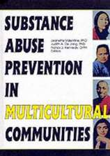 Substance Abuse Prevention in Multicultural Communities