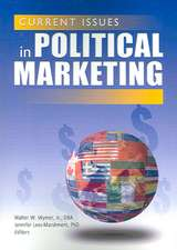 Current Issues in Political Marketing