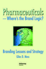 Pharmaceuticals - Where's the Brand Logic?
