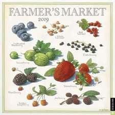Farmer's Market 2019 Wall Calendar