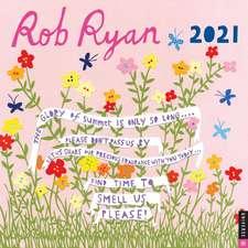 Rob Ryan 2021 Wall Calendar