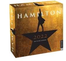 Hamilton 2022 Day-to-Day Calendar