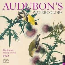 Audubon's Watercolors 2022 Wall Calendar