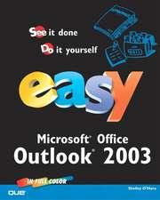 Easy Microsoft Office Outlook 2003