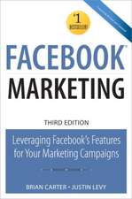 Facebook Marketing:  Leveraging Facebook's Features for Your Marketing Campaigns