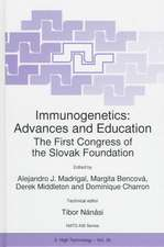 Immunogenetics: Advances and Education: The First Congress of the Slovak Foundation