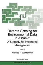 Remote Sensing for Environmental Data in Albania: A Strategy for Integrated Management