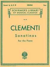 12 Sonatinas, Op. 36, 37, 38: Schirmer Library of Classics Volume 40 Piano Solo