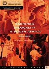 Earnings Inequality in South Africa 1995-2003