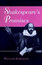 Shakespeare's Promises
