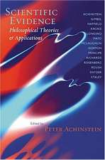 Achinstein Scientific – Philosophical Theories and  Applications