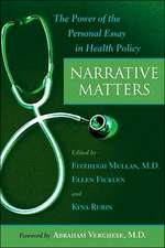 Narrative Matters – The Power of the Personal Essay in Health Policy