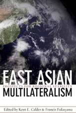 East Asian Multilateralism – Prospects for Regional Stability