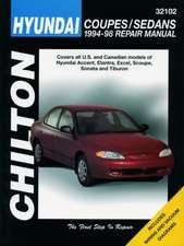 Hyundai Coupes and Sedans, 1994-98