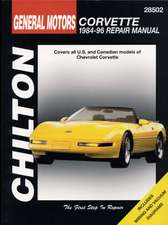 Chevrolet Corvette, 1984-96:  Covers All U.S. and Canadian Models of Toyota Celica