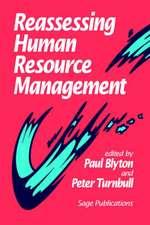 Reassessing Human Resource Management