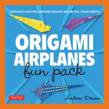 Origami Airplanes Fun Pack: Make Fun and Easy Paper Airplanes with This Great Origami-for-Kids Kit: Origami Book with 48 High-Quality Origami Papers